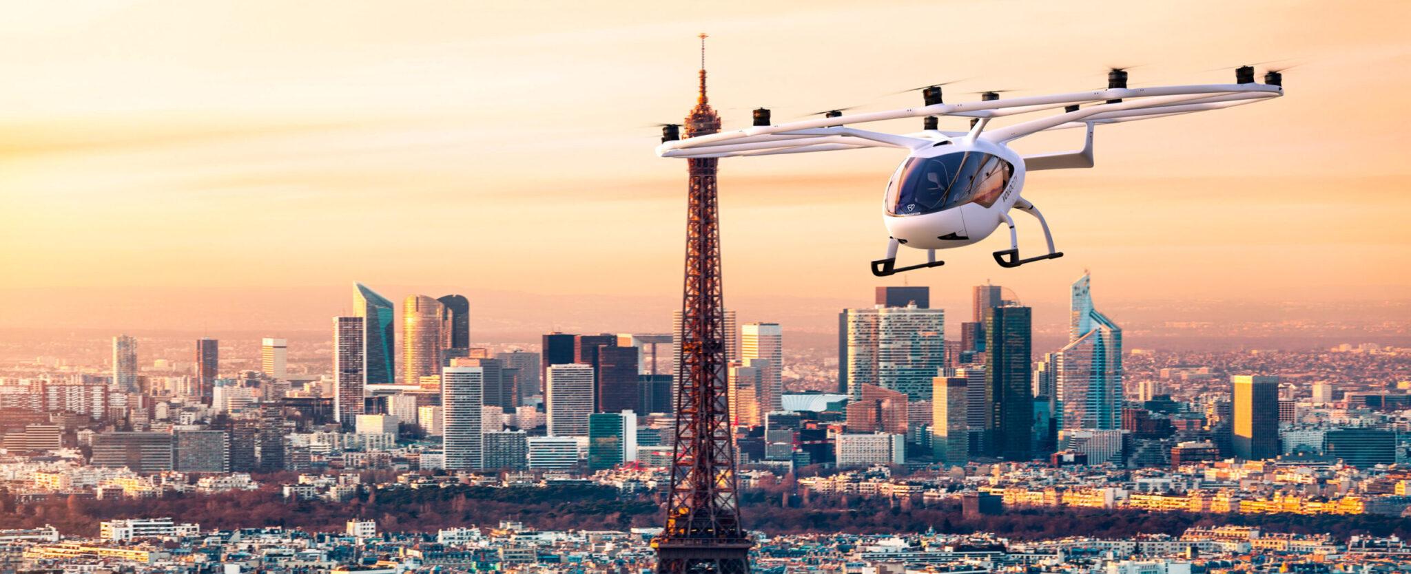 Volocopter, le leader de la mobilité aérienne