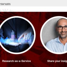 Atheneum, un service de Research-as-a-service
