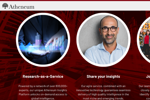 Atheneum : «Research-as-a-service»
